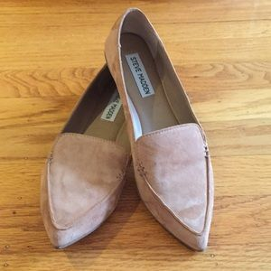 Woman's suede feather loafers